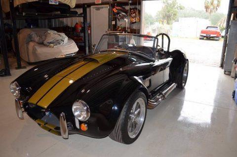 low miles 1965 Backdraft Cobra Replica for sale