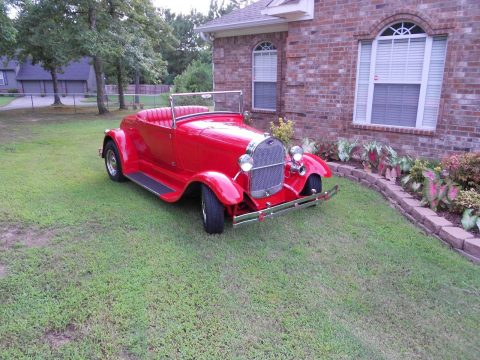 older build 1929 Ford Roadster hot Rod Replica for sale