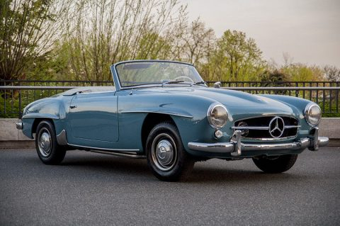 very clean 1959 Mercedes-Benz 190 SL replica for sale