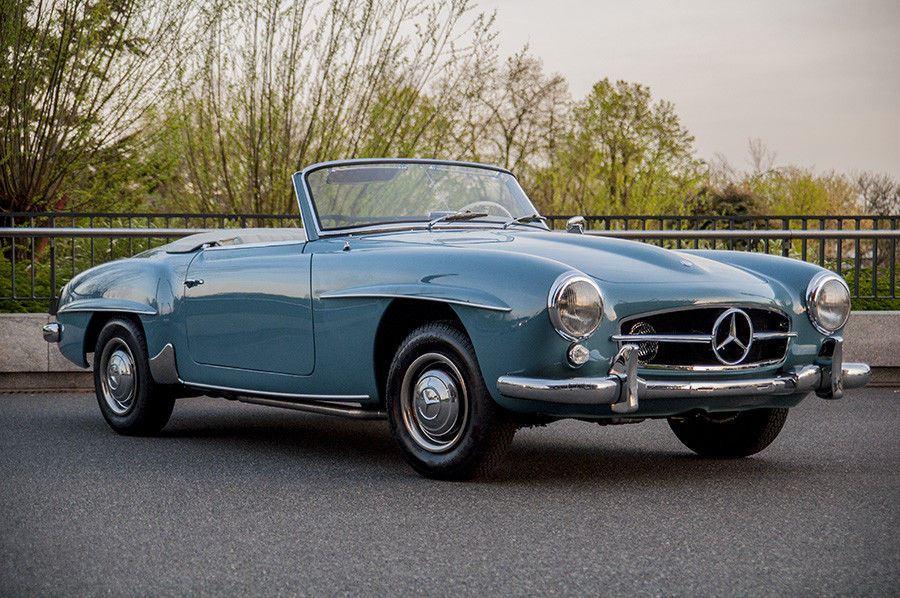 Very Clean 1959 Mercedes Benz 190 Sl Replica For Sale