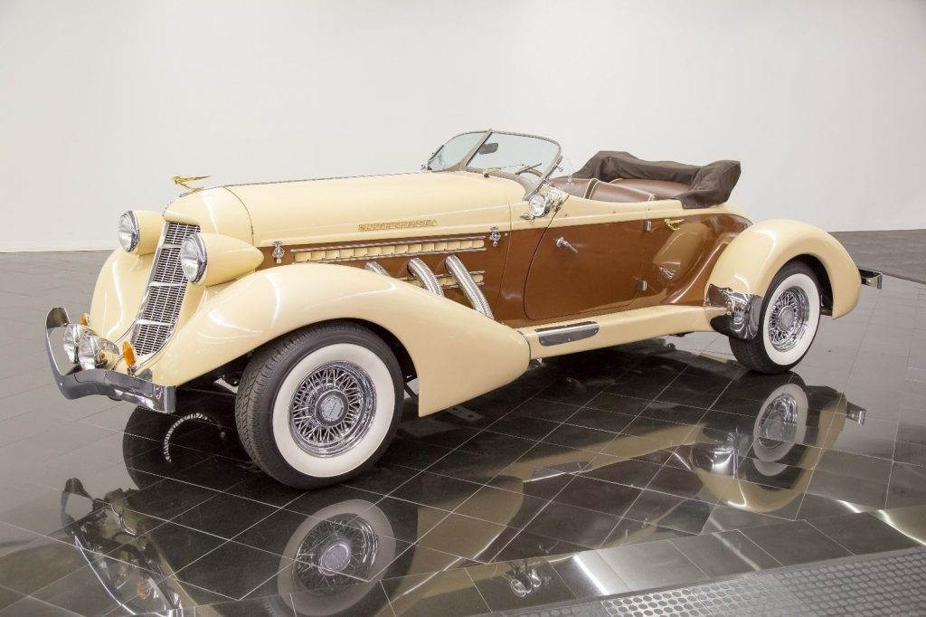 very low mileage 1936 Auburn 876 Boattail Phaeton Replica