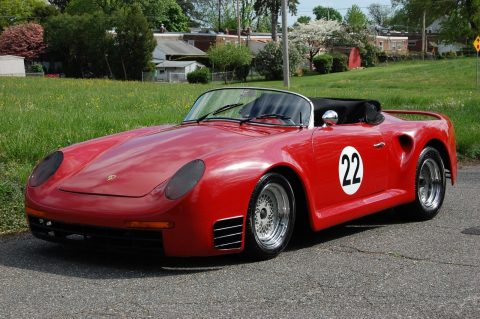 VW Beetle Bug chassis and engine 1967 Porsche Convertible Replica for sale