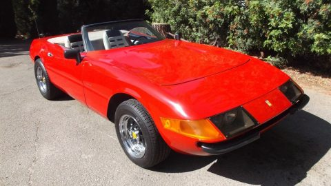 few dents 1973 Ferrari 365 Gts/4 Daytona Replica for sale