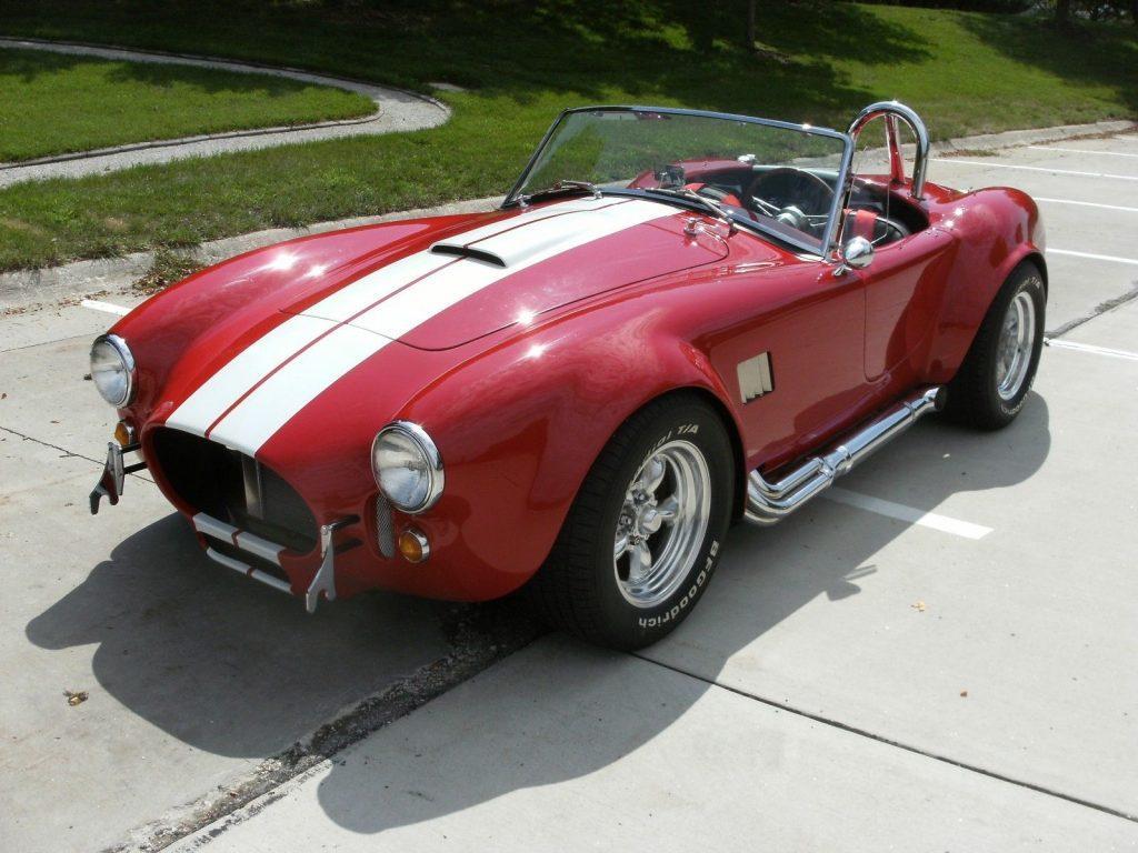 fresh build 1967 Shelby Cobra Replica