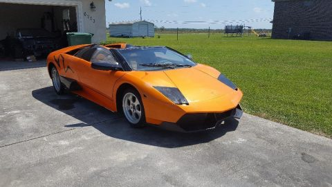 great starter project 1985 G 28 Lamborghini replica for sale