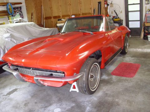 Monte Carlo based 1967 Chevrolet Corvette Convertible Replica for sale