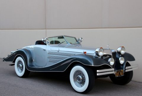 Pontiac based 1934 Mercedes Benz 500K 540K Cabriolet Replica for sale