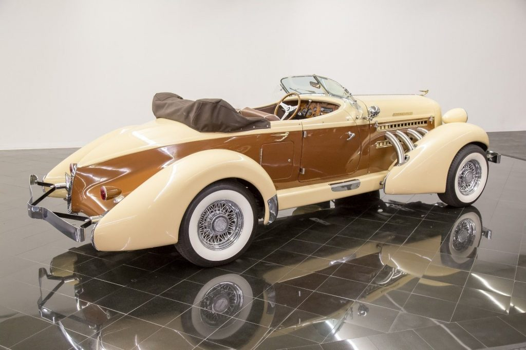 very low mileage 1936 Auburn 876 Boattail Phaeton replica