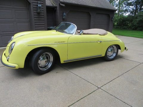 awesome 1957 Porsche Speedster 356 Replica for sale