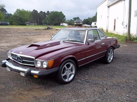 Chevy big block 1979 Mercedes 450sl W107 Replica for sale