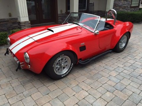 professionally built 1965 Cobra Replica for sale
