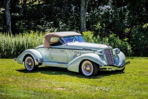 very nice 1935 Auburn Speedster Boattail Replica for sale