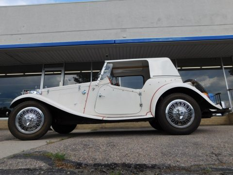 great running 1952 MG TD Replica for sale