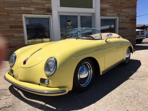 serviced 1957 Porsche Speedster Replica for sale