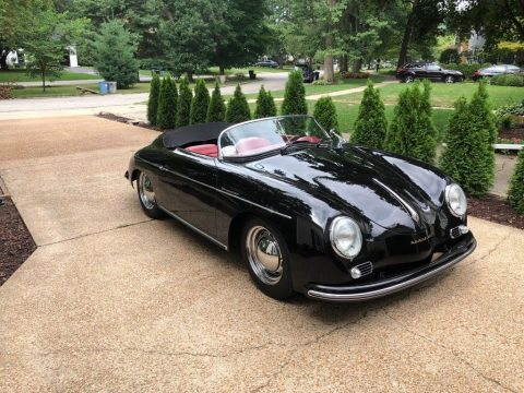 wonderful shape 1957 Porsche 356 Speedster replica for sale