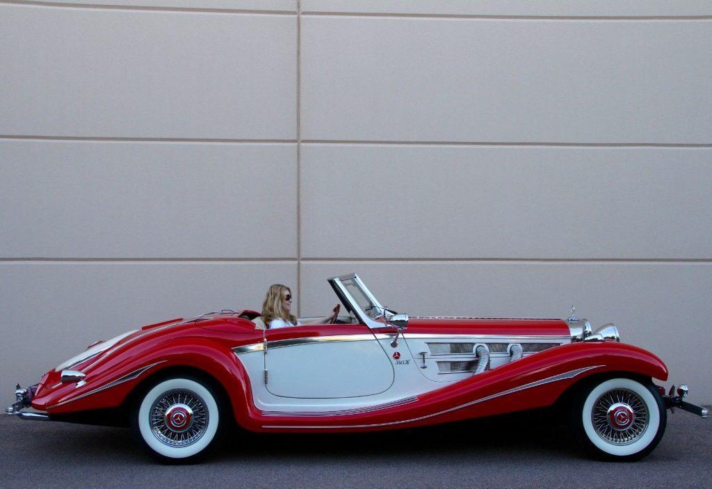 brand new engine 1936 Mercedes Benz 540K Cabriolet Replica