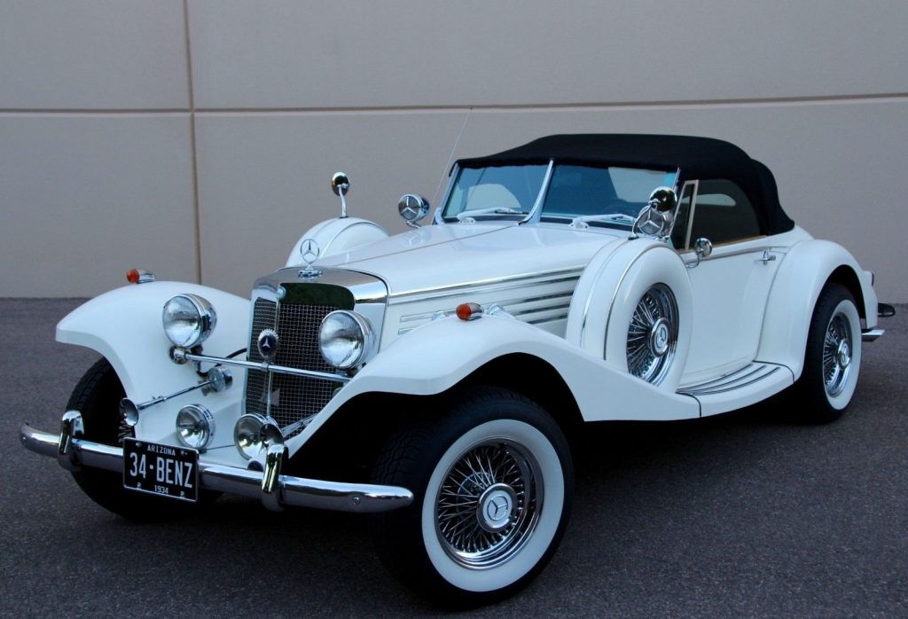 classic 1934 Mercedes Benz 500K Replica