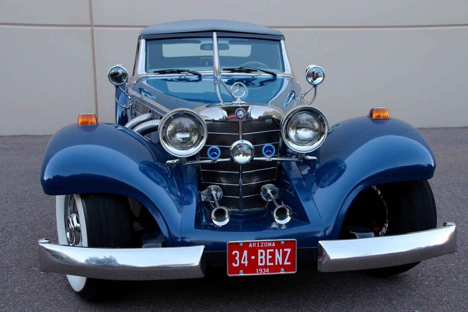 Corvette Convertible For Sale >> classic 1934 Mercedes Benz 500K Replica for sale