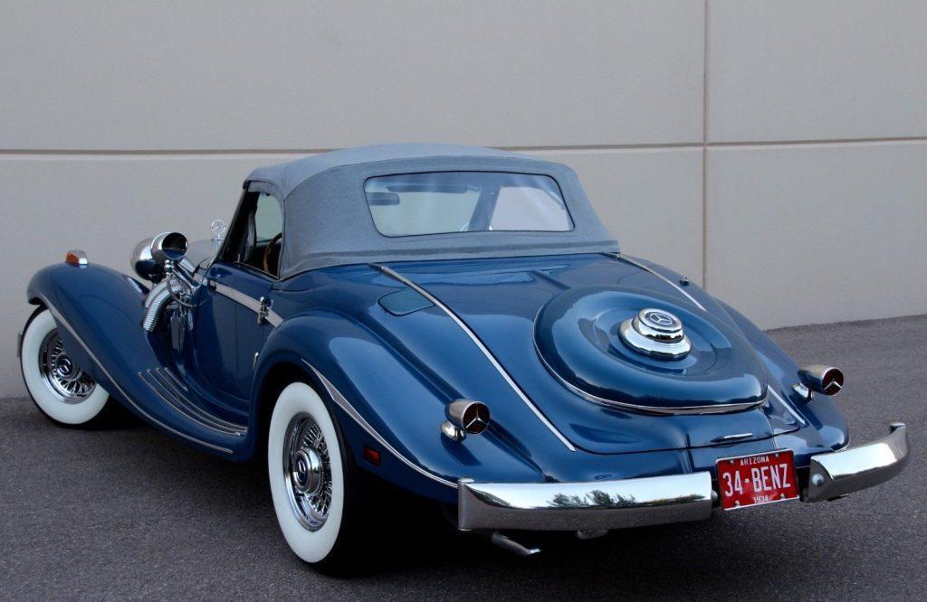classic 1934 Mercedes Benz 500K Replica