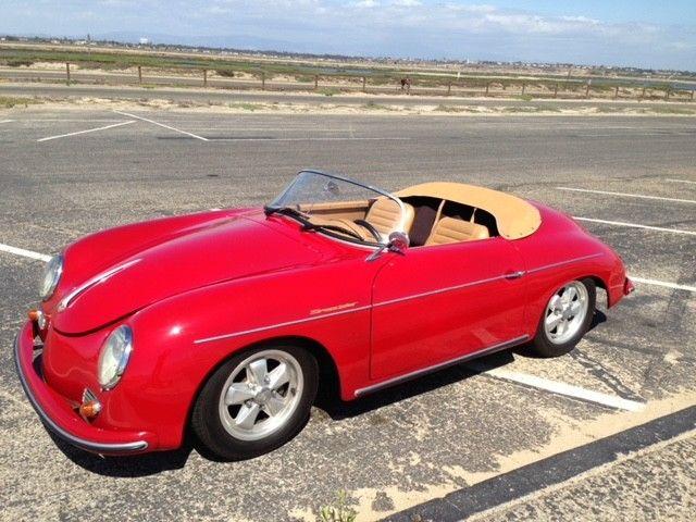 fast 1957 Porsche 356 Speedster Replica