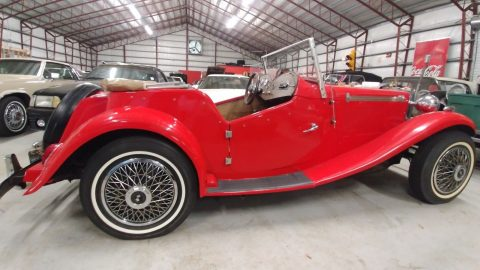 garaged 1950 MG TC Convertible Replica for sale