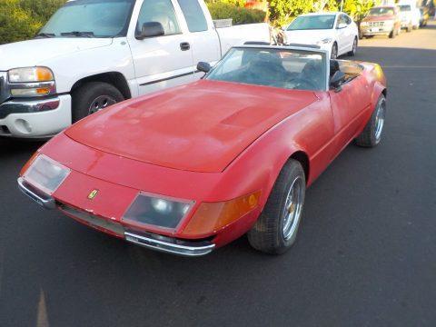 needs TLC 1972 Ferrari Daytona Spyder Replica for sale