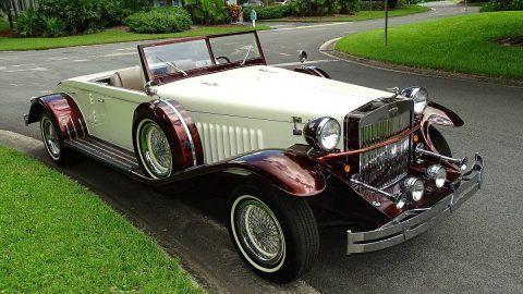 rare 1933 Duesenberg Model J CONVERTIBLE Replica for sale