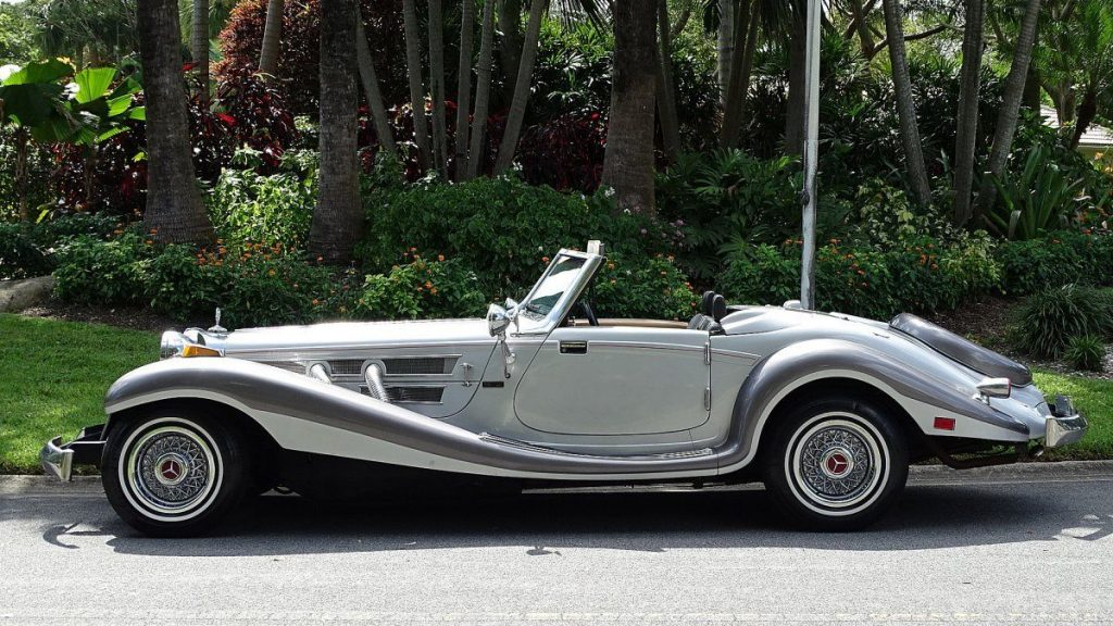 very nice 1934 Mercedes BENZ 500K Roadster Replica
