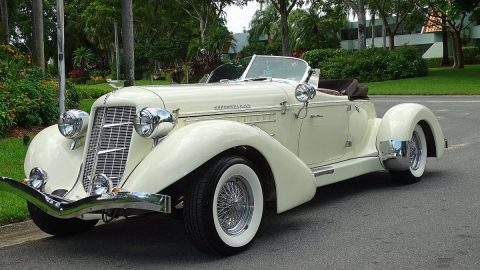 very nice 1986 Auburn Speedster Replica for sale