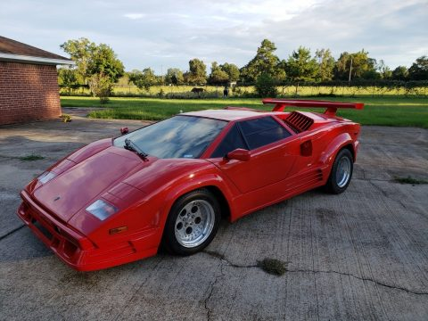 very nice 1986 Lamborghini Countach 25th Anniversary Replica for sale