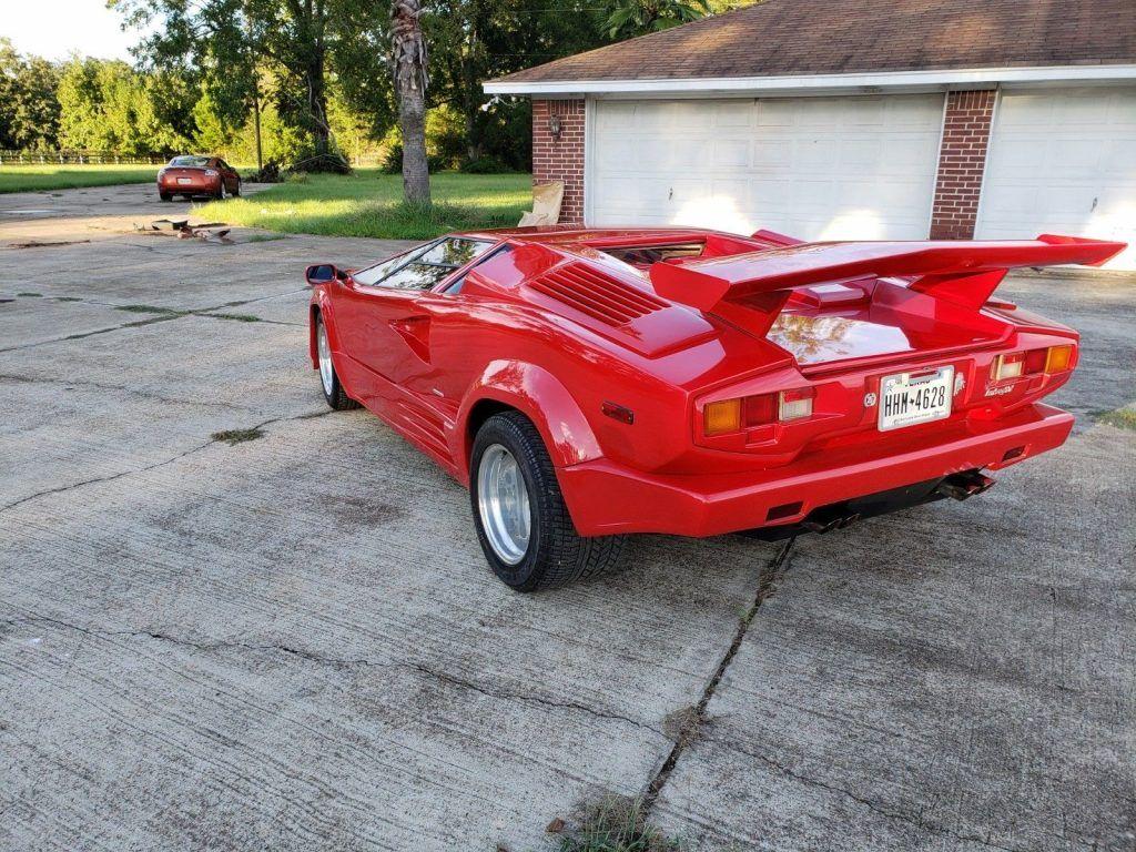 very nice 1986 Lamborghini Countach 25th Anniversary Replica