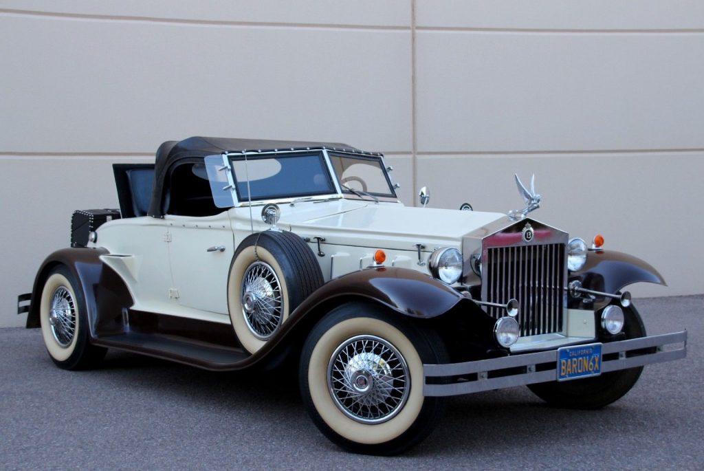 art deco 1932 Rolls Royce Cabriolet Replica