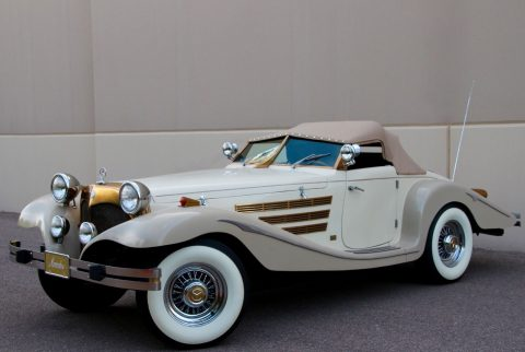 beautiful 1934 Mercedes Benz 540K Cabriolet Replica for sale