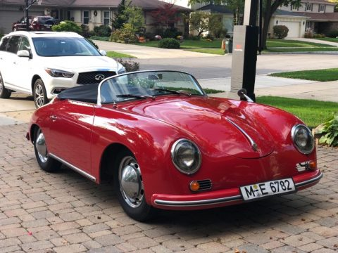 beautiful 1957 Porsche 356 Speedster Replica for sale