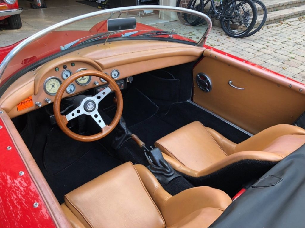 beautiful 1957 Porsche 356 Speedster Replica