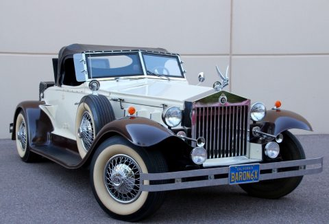 classic 1932 Rolls Royce Cabriolet Baron Imperial Replica for sale