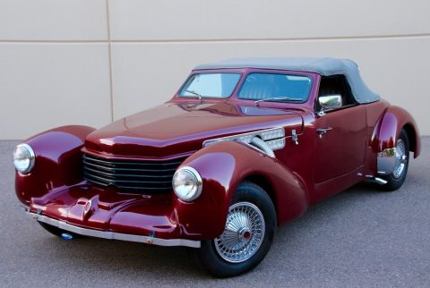 classic 1937 Auburn Roadster Replica for sale