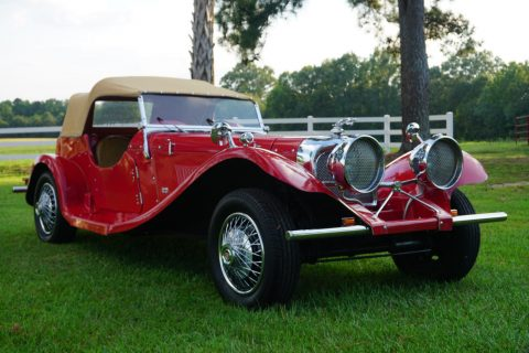 classic 1937 Jaguar SS100 Replica for sale