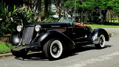 custom built 1935 Auburn Boattail replica for sale