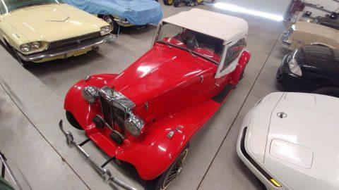 needs service 1950 MG TC Convertible replica for sale