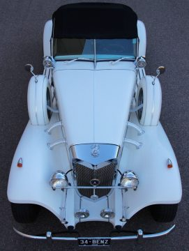 nice and shiny 1934 Mercedes Benz 540K Cabriolet Replica for sale