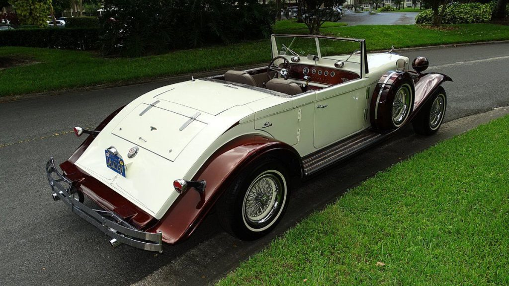 rare 1933 Duesenberg Model J CONVERTIBLE Replica