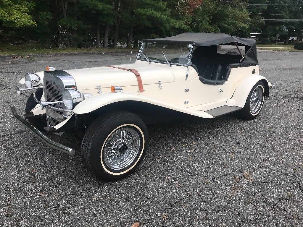 really cool 1929 Mercedes Gazelle by CMC Ford Replica