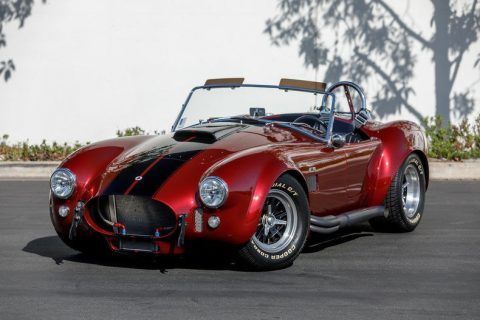 well optioned 1965 Shelby Cobra Replica for sale