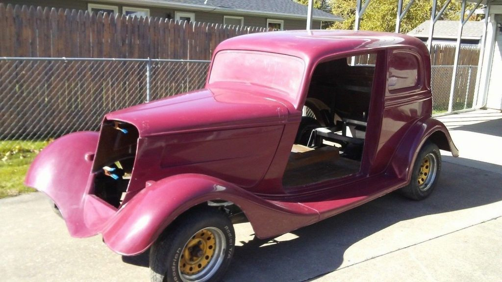almost complete 1933 Ford Victoria replica
