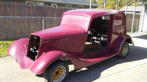 almost complete 1933 Ford Victoria replica for sale