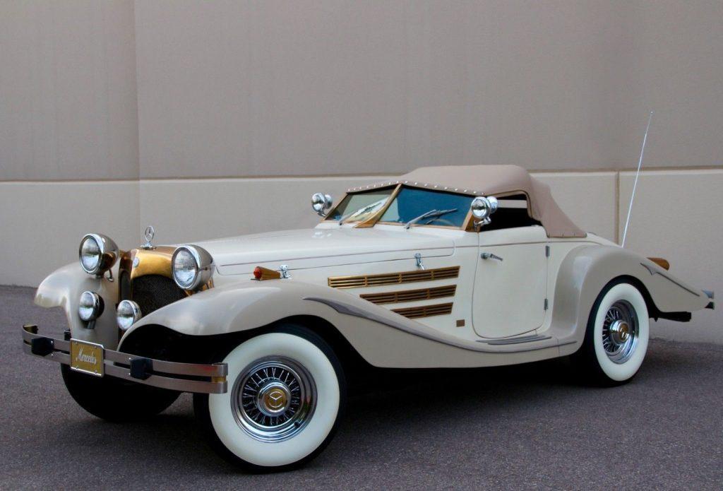 classic oldtimer 1934 Mercedes Benz 540K Convertible Replica
