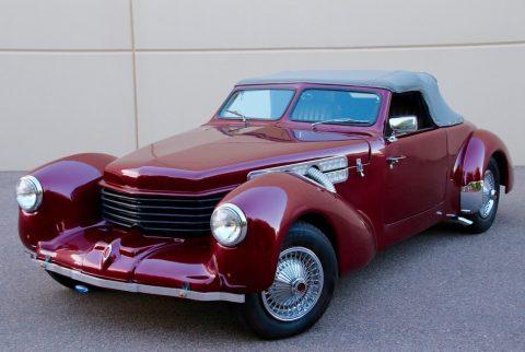 hot rod 1937 Cord Replica for sale