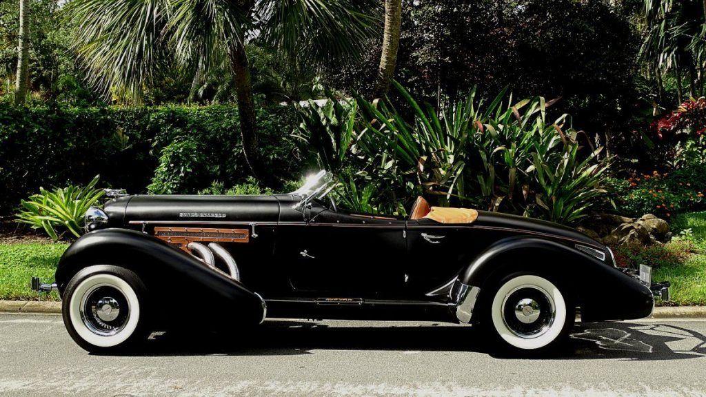 rare 1935 Auburn Replica