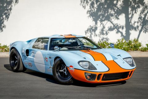 bored out engine 1966 Ford GT40 replica for sale